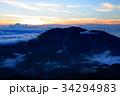 仙丈ヶ岳 南アルプス 雲海の写真 34294983