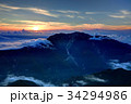 仙丈ヶ岳 南アルプス 雲海の写真 34294986