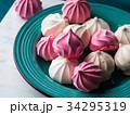 メレンゲ ピンク ピンク色の写真 34295319