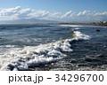 波とサーフィン 34296700
