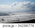 海と雲 34296776