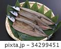 さんまの開き 開き 秋刀魚の写真 34299451