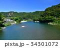 和歌山県 古座川の景色 34301072