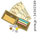 お金とお財布 34302589