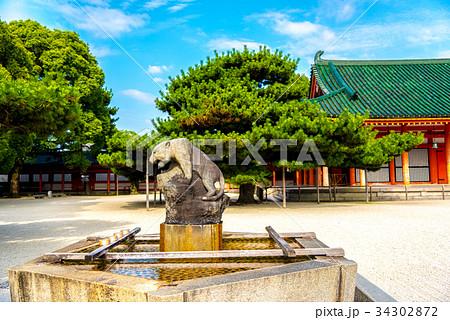 京都 平安神宮の手水舎 34302872