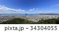 峰山より望む高松市臨海部(屋島から香西まで) 34304055