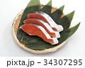 鮭 切り身 銀鮭の写真 34307295