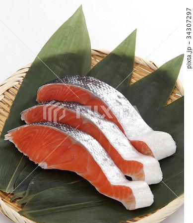 鮭の切身 34307297