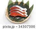 鮭 切り身 銀鮭の写真 34307300