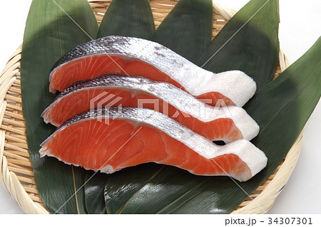 鮭の切身 34307301
