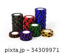 カジノチップ 34309971
