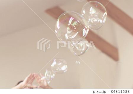 Soap bubbles backgroundの写真素材 [34311588] - PIXTA