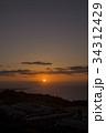 日の出 別府湾 別府市の写真 34312429