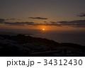 日の出 別府湾 別府市の写真 34312430