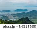 小豆島 新緑の寒霞渓 山頂からの眺望 34313965