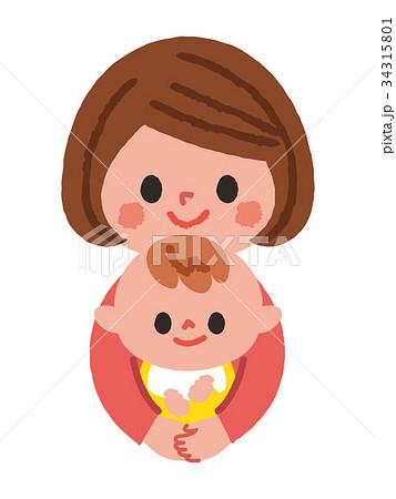 子育て中のママ 赤ちゃん 34315801