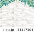 背景 壁 葉のイラスト 34317304