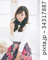 女性 若い ヘアスタイルの写真 34317887