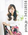 女性 若い ヘアスタイルの写真 34318038