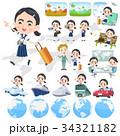 女性 人物 学生のイラスト 34321182