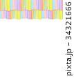和紙 背景素材 フレームのイラスト 34321666