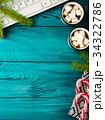 クリスマス マシュマロ ドリンクの写真 34322786