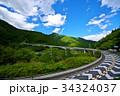 ループ橋 橋 雷電廿六木橋の写真 34324037