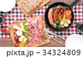 スキレット 料理 真俯瞰 34324809