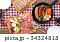 スキレット 朝食 料理の写真 34324818