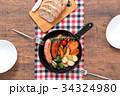 スキレット 朝食 料理の写真 34324980