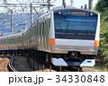 列車 電車 中央線の写真 34330848