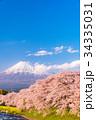 富士山 春 龍巌淵の写真 34335031