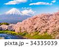 富士山 春 龍巌淵の写真 34335039