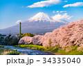 富士山 春 龍巌淵の写真 34335040