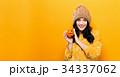 女性 かぼちゃ カボチャの写真 34337062