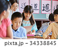 小学校 授業 教室 34338845