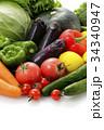 野菜 食材 緑黄色野菜の写真 34340947