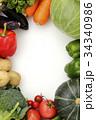 野菜 食材 緑黄色野菜の写真 34340986