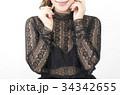 ファッション 秋服 レース シースルー ブラウスと見せブラ 34342655