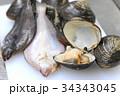 海鮮食品 素材 34343045