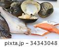 海鮮食品 素材 34343048