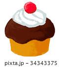 カップケーキ 34343375