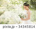 花嫁 新婦 ブライダルの写真 34345814