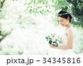 花嫁 新婦 ブライダルの写真 34345816