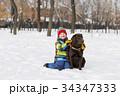 遊ぶ 活動 景色の写真 34347333