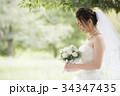 花嫁 新婦 ブライダルの写真 34347435