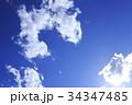 空と雲 34347485