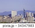 福岡 街並み 福岡タワーの写真 34347983