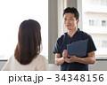 患者 問診 整体師の写真 34348156