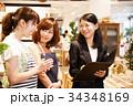 店員 販売員 女性 マネージャー 雑貨 セレクトショップ 撮影協力:TENOHA DAIKANYAM 34348169